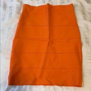 BCBG Maxazria Bright Bandage Skirt